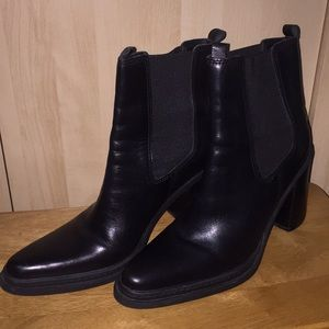 MIA Leather Ankle Boots